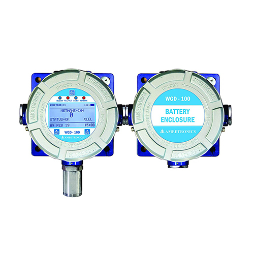 Wireless Gas Detectors with Universal Receiver