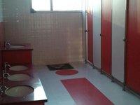 Cubicle Restroom
