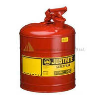 Justrite Fire Safety Can