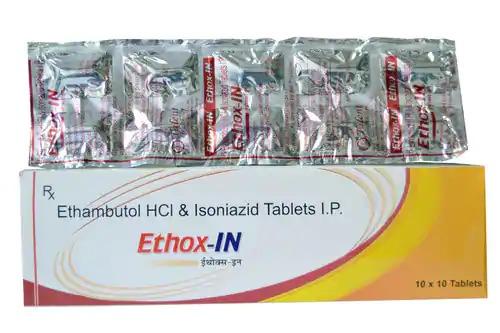 Ethambutol with Isoniazid Tablets