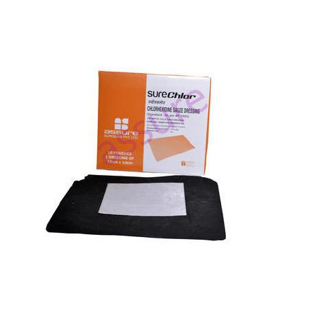 Chlorhexidine Gauze Dressing Pads