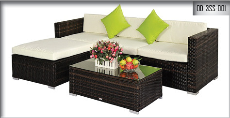 Out Door Three Seater Sofa