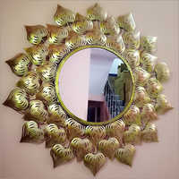 Decorative Round Shape Wall Mirror