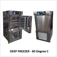 Deep Freezer-80 Degree Manufacturers