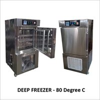 Laboratory Deep Freezer (- 80 Degree C)