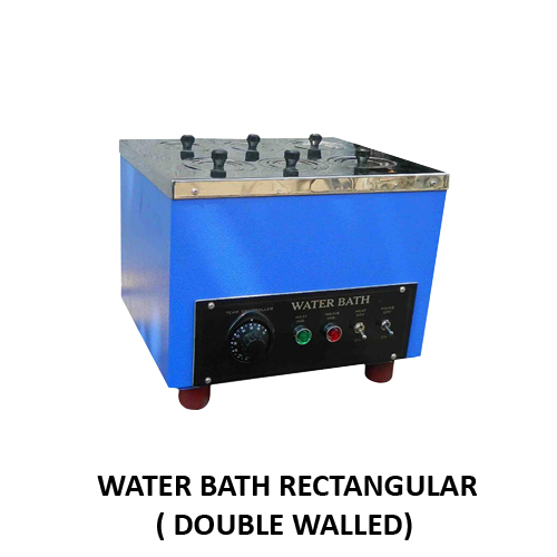 Double Wall Rectangular Water Bath