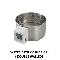 Double Wall Cylindrical Water Bath