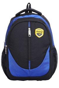 Hard Craft Unisex's Backpack 15inch Laptop Backpack M-Zip Lightweight(D-Blue-Black)