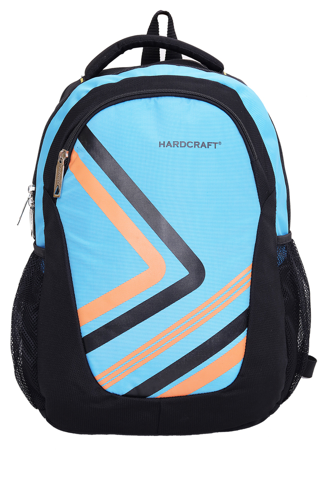 Hard Craft Unisex Backpack (Blue-Black)