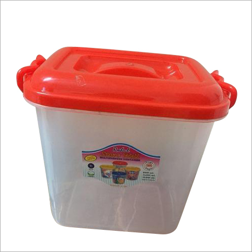 Square Plastic Container