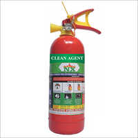 2 KG Clean Agent Fire Extinguishers
