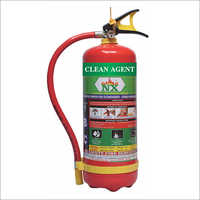 4 KG Clean Agent Fire Extinguishers