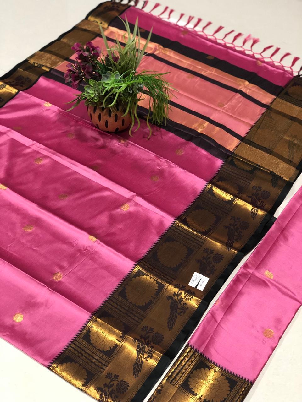 Partywear Ethnic Cotton Silk Saree