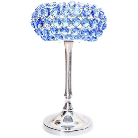 Crystal Cup Tea Light Holder Stand