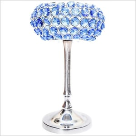 Crystal Cup Tea Light Holder Stand