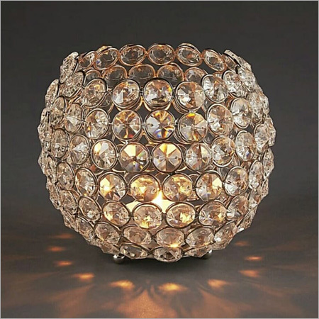 Crystal Ball Tealight Holder
