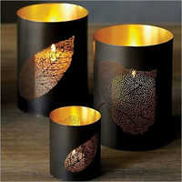 Iron Cup Candle Holder