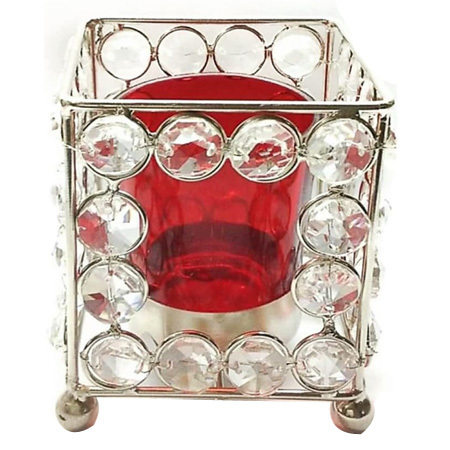 Decorative Crystal Votive Holder