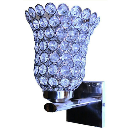 Decorative Crystal Uplight Wall Lamp