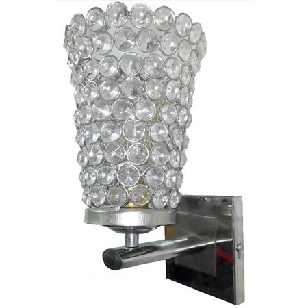 Crystal Gem Uplight Wall Lamp