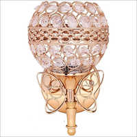 Glass Crystal Uplight Wall Lamp
