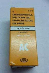 chloramphenico lbenzocaine proplyeneglycol
