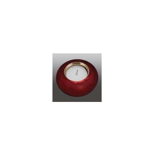Cardinal Red Round Aluminum