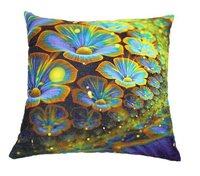 Floral Digital Print Cushion
