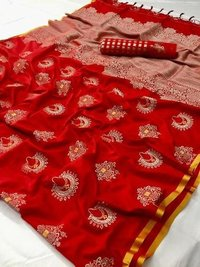 Fancy Resham Silk Sarees