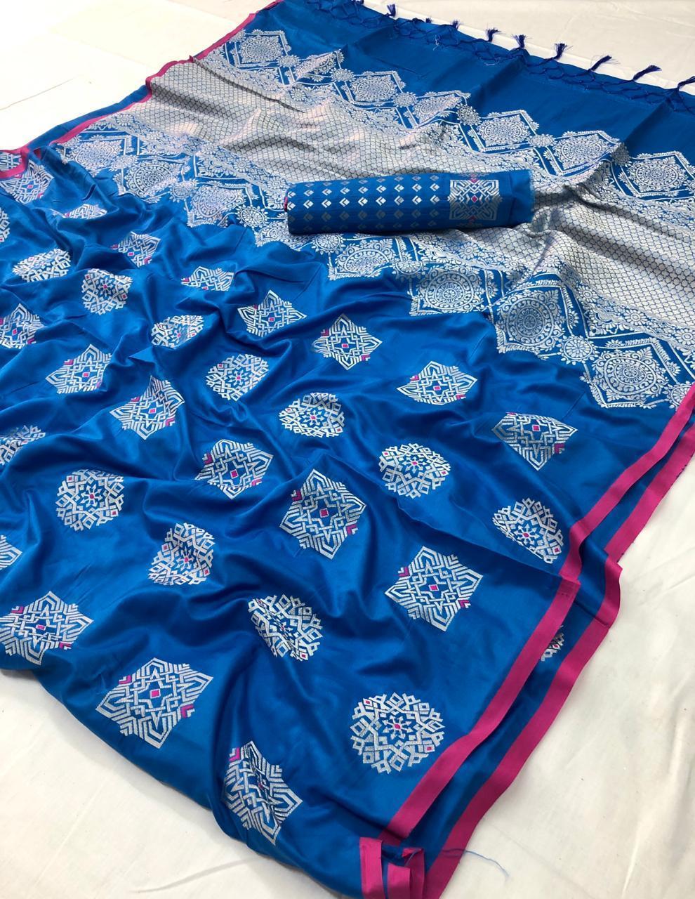 Fancy Resham Silk Sarees