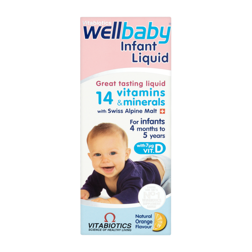 Infant Multivitamins Oral Drops