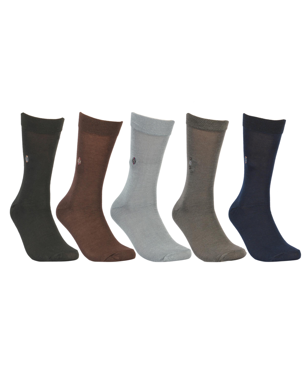 Director Centered Fine Weaved Elite Calf Socks