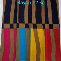 PRINTED RAYON FABRIC FOR GARMENTS