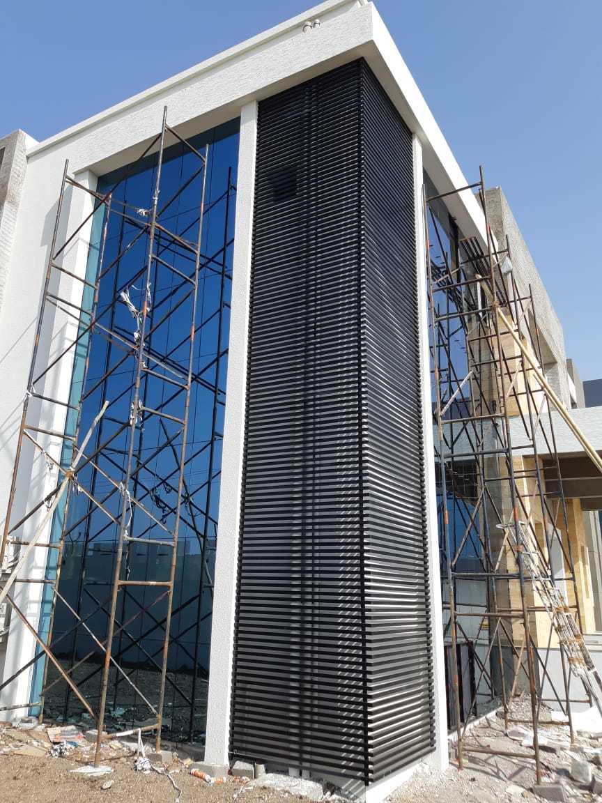 Glass Elevation Composite Panel