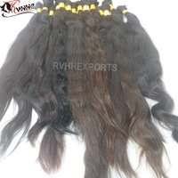 Remy Bulk Virgin Cuticle Aligned Indian Hair Extension.