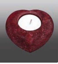 Onyx Heart Keepsake Urn