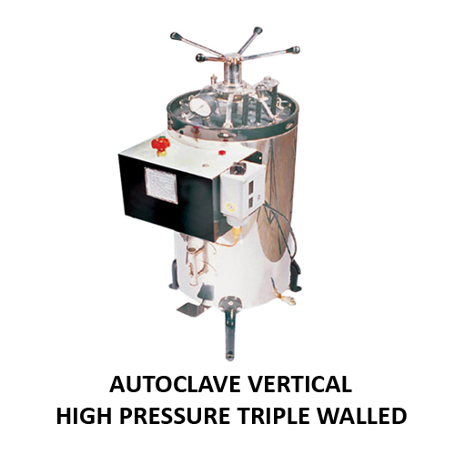 Autoclave Vertical High Pressure (Triple Walled)