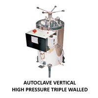 Triple Wall Autoclave Vertical High Pressure