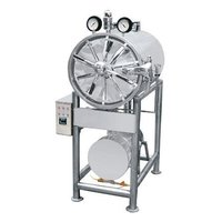 Triple Wall Cylindrical Horizontal Autoclave