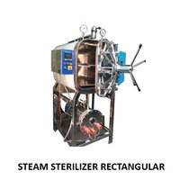 Steam Sterlizer Rectangular High Pressure