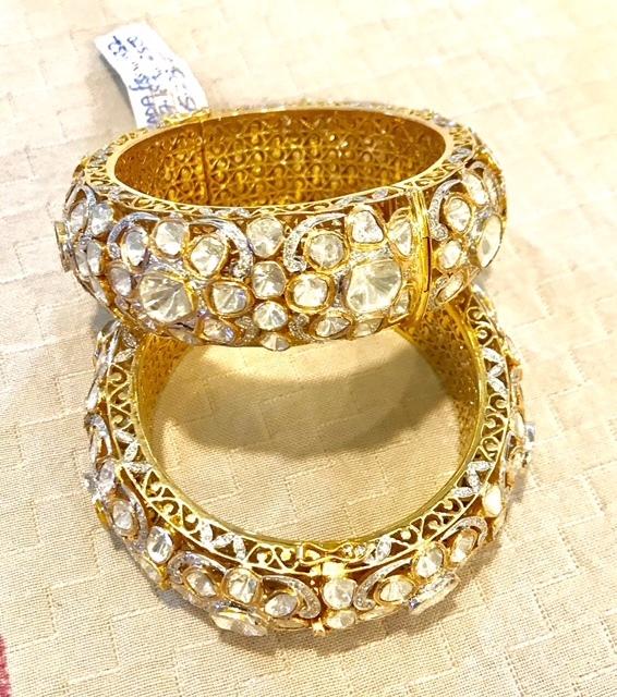 Kundan Polki Bracelet