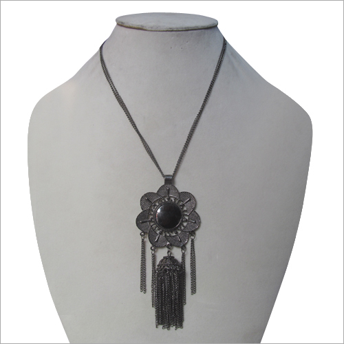 Flower Tassel Artificial Necklace