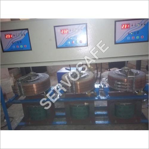 60 KVA Three Phase Servo Voltage Stabilizer