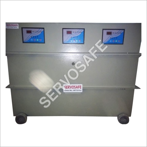 75 KVA Oil Cooled Three Phase Servo Voltage Stabilizer