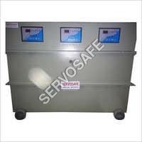 75 KVA Oil Cooled Three Phase Servo Voltage Stabilizer