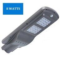400-1200 Lumens Mini Series LED Solar Street Light