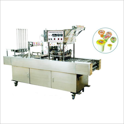 Automatic Cup Glass Filling & Sealing Machine