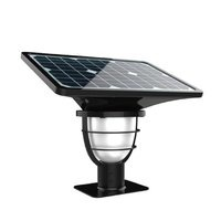 300 Lumens Fully Automatic Led Solar Outdoor Gate Post Lights
