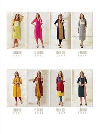 New Designer Rayon Kurtis
