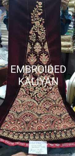 EMBROIDED KALIYAN